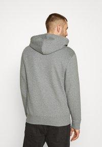 Selected Homme - JACKSON HOOD - Hoodie - medium grey melange - 3