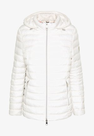 JACKE STEPP MIT KAPUZE - Light jacket - offwhite