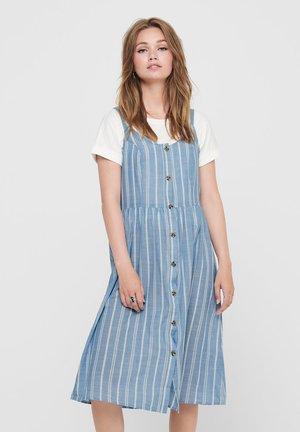 Day dress - chambray blue