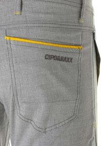 Cipo & Baxx - MIT ZIERNÄHTE - Trousers - grey - 9