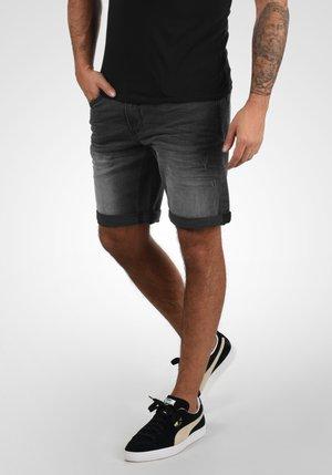 GRILITSCH - Denim shorts - black