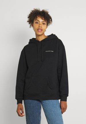 PARTY ANIMALE GLITTER HOODIE WOMEN - Sweater - black