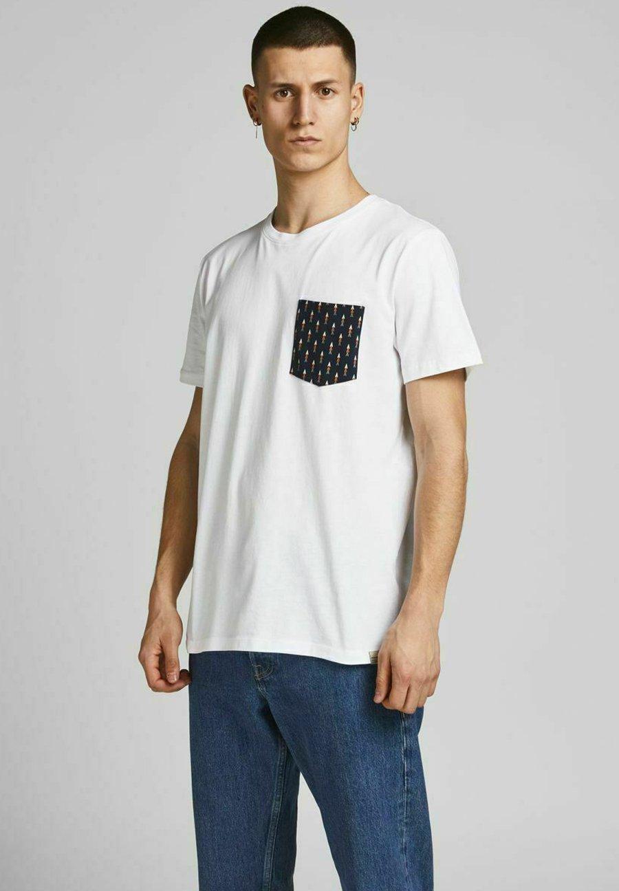 Homme JORCANYON POCKET TEE CREW NECK - T-shirt imprimé