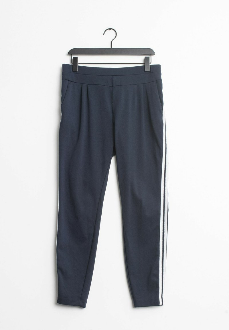 Cream - Trousers - blue