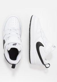 Nike Sportswear - COURT BOROUGH 2 UNISEX - Sneakers laag - white/black - 0
