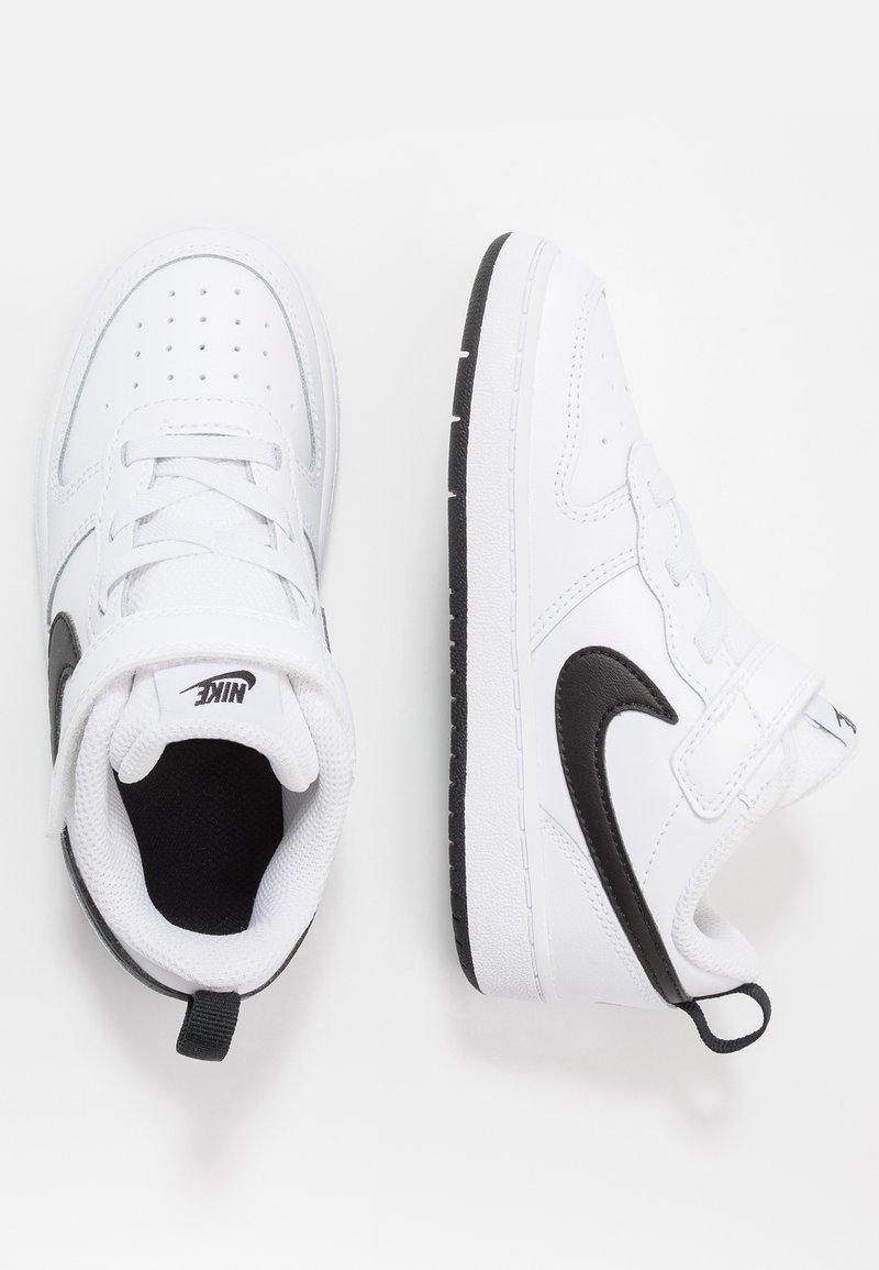 Nike Sportswear - COURT BOROUGH 2 UNISEX - Sneakers laag - white/black