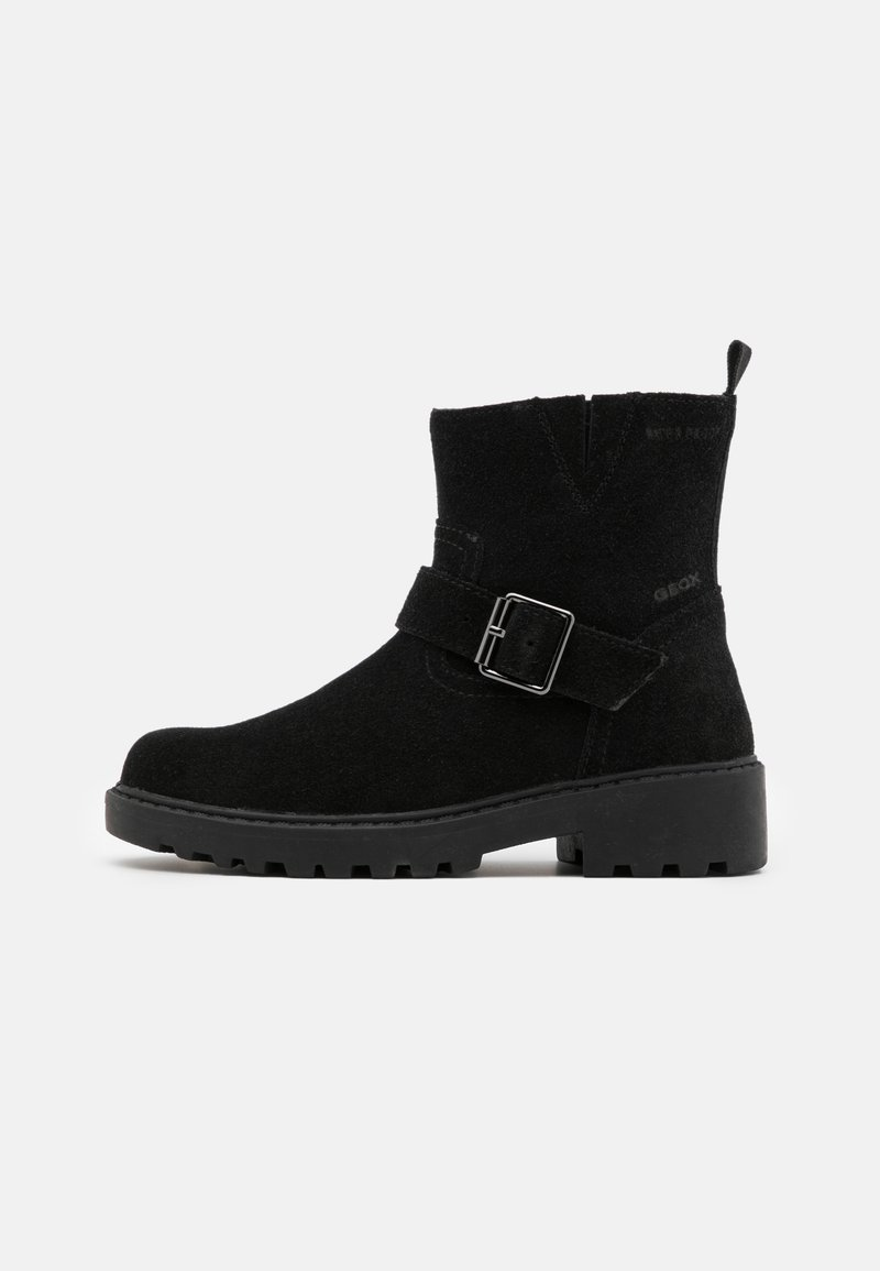 Geox - CASEY GIRL WPF - Cowboy/biker ankle boot - black
