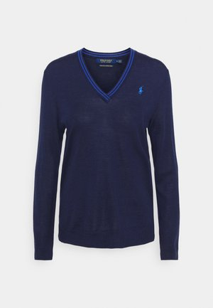 Sweter - french navy/summer royal