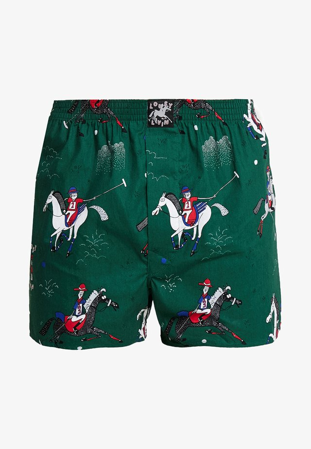 POLO - Boxer shorts - eden green