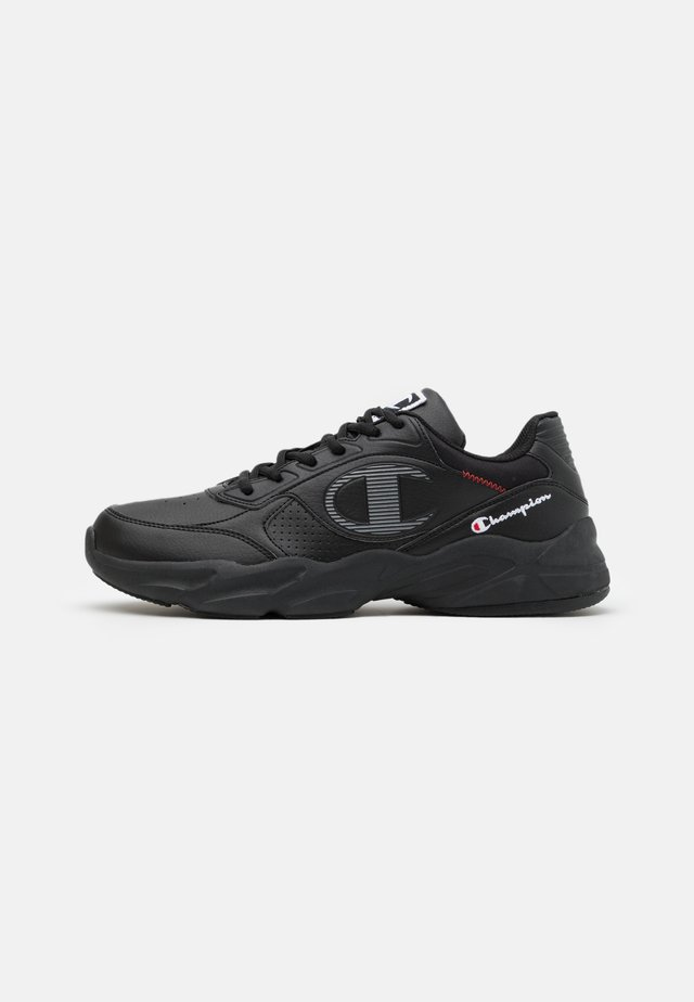 LOW CUT SHOE NORMAN - Sportschoenen - new black/white