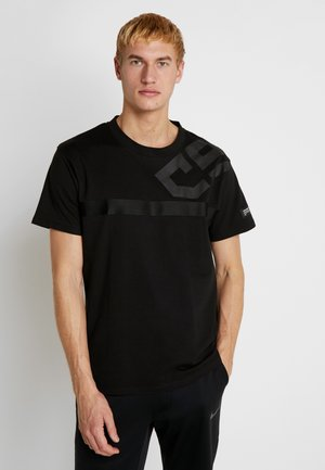 JCOBLACKOUT TEE CREW NECK - T-Shirt print - black