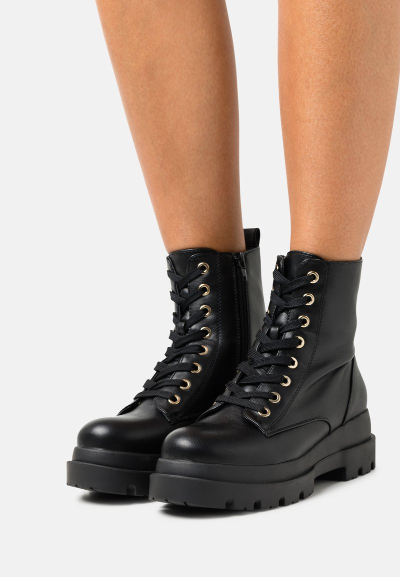 Call it Spring - VEGAN XENIA - Platform ankle boots - black