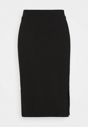 JRJUSTA MIDI SKIRT - Pencil skirt - black