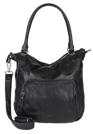 SHOPPER ROSY - Tote bag - black