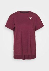 PROJECT ROCK - T-shirt print - level purple