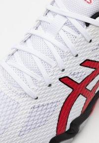ASICS - GEL BLADE 7 - Zapatillas de tenis para todas las superficies - white/classic red - 5