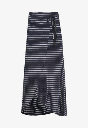 ADELKA - Zavinovací sukně - navy