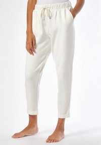 Dorothy Perkins - Tracksuit bottoms - white - 0