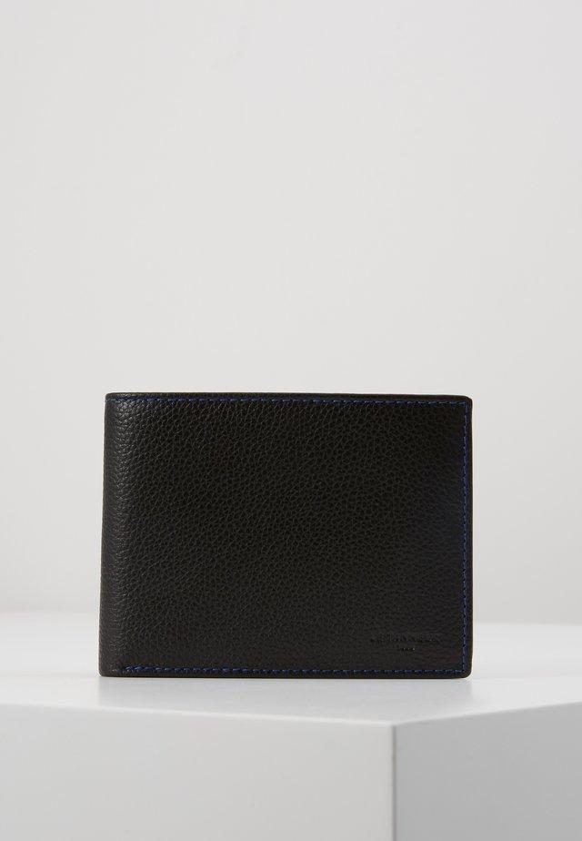 CHARLES - Wallet - noir/le bleu