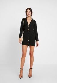 4th & Reckless - PIMLICO - Robe chemise - black - 2