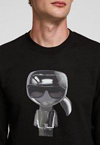 KARL LAGERFELD - Sweatshirt - black - 4