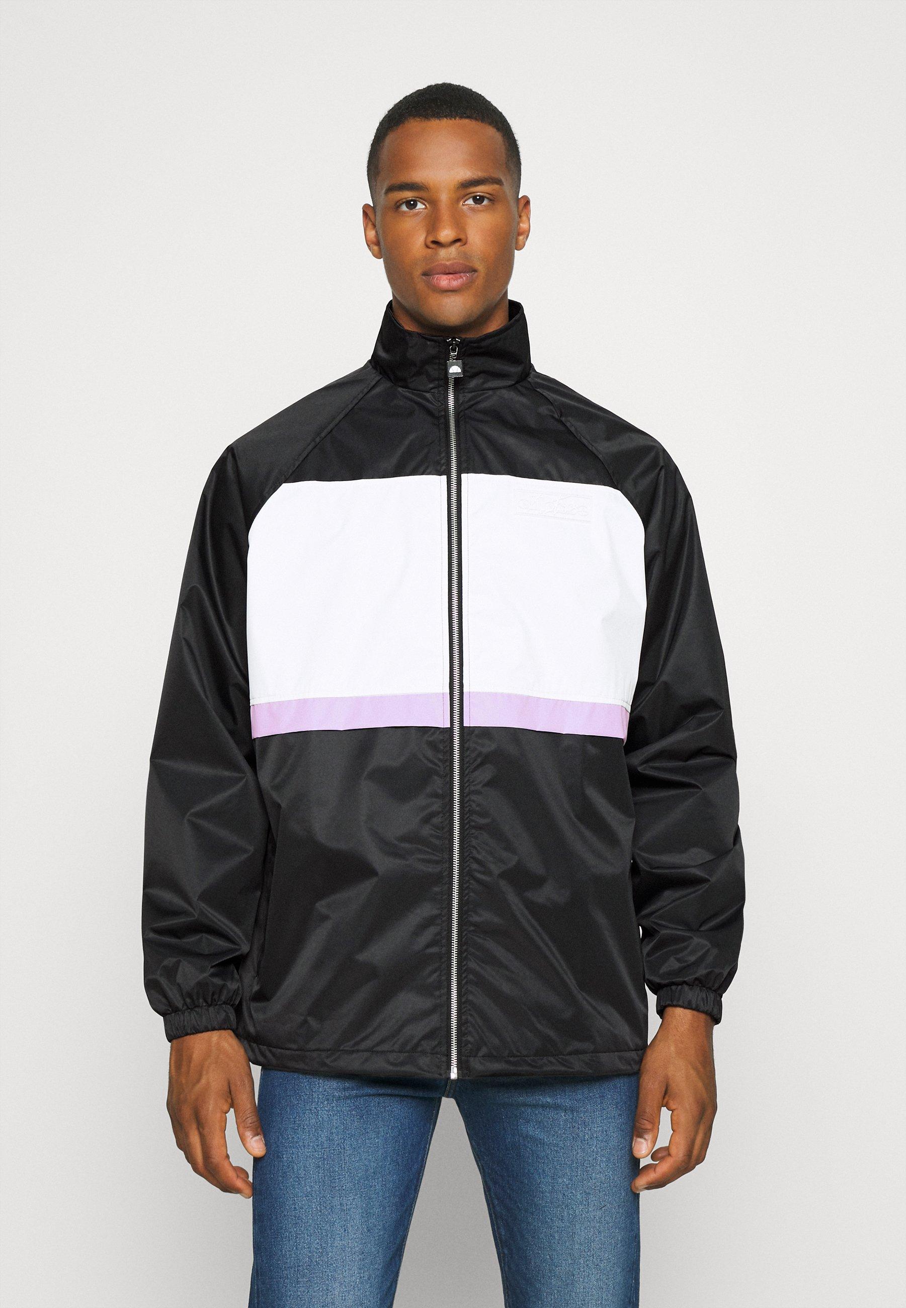Men MENS PANELLED SHELL JACKET WITH TOWELLED BADGE - Training jacket