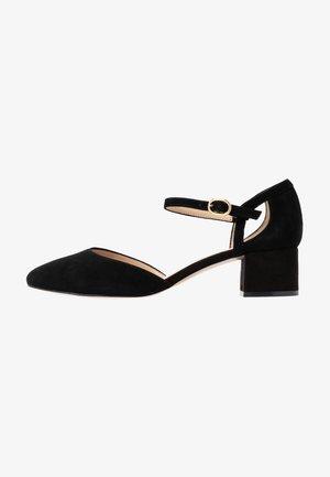 LEATHER PUMPS - Classic heels - black
