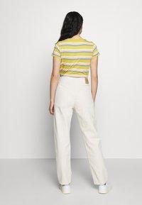 American Vintage - SNOPDOG - Straight leg jeans - ecru - 2