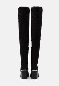 Even&Odd - Overknee laarzen - black - 3
