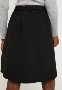 Kaffe - KAJILJA SKIRT - A-line skirt - black deep - 5
