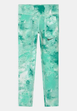 ONE - Legging - barely green/neptune green