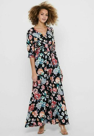 LANGÄRMELIGES - Maxi dress - black