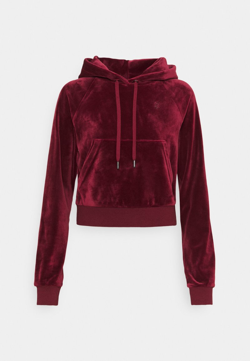 Juicy Couture - SALLY - Hættetrøjer - cabernet