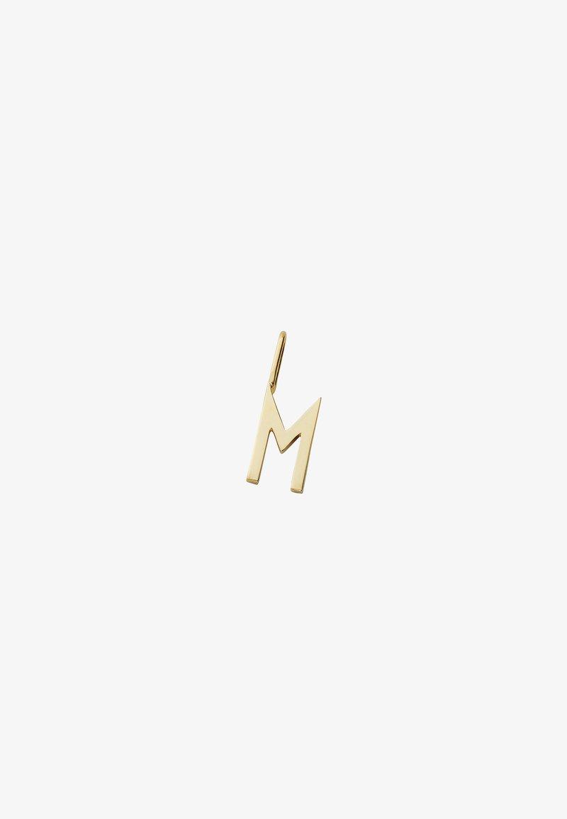 Design Letters - ARCHETYPE CHARM 10MM - M - Charm - gold