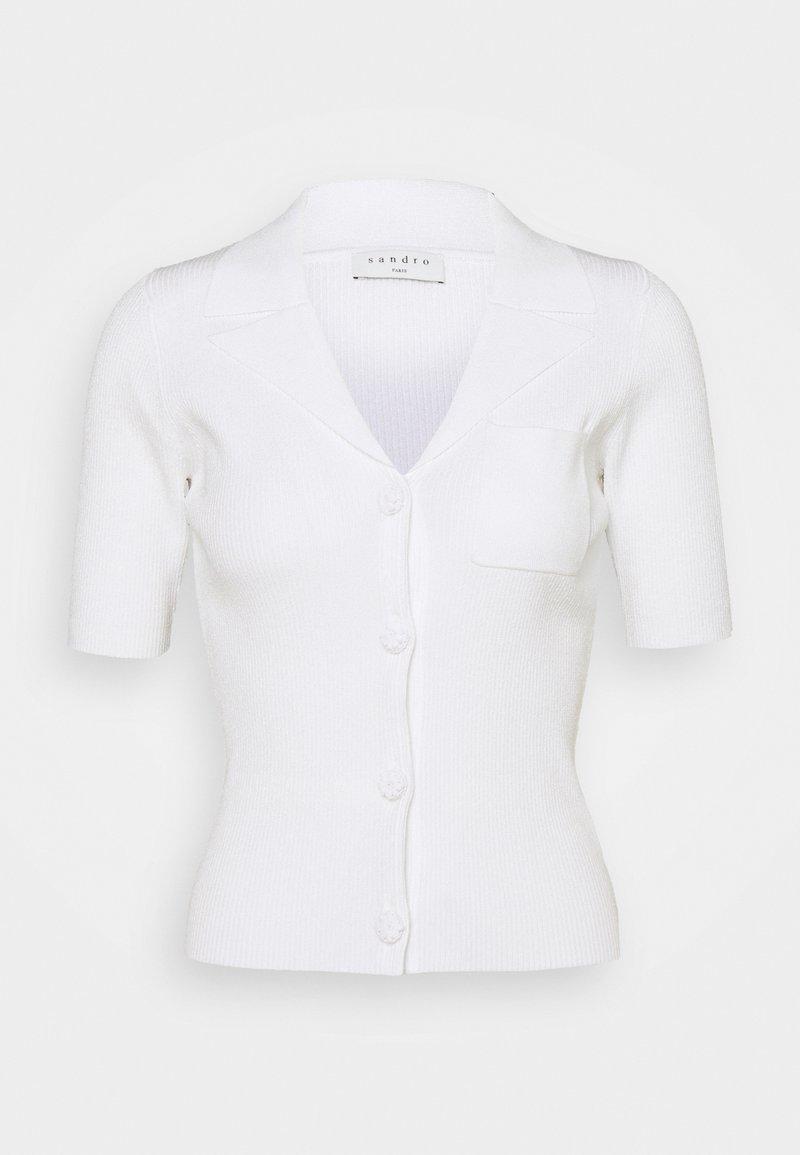 sandro - CONSTANCE - Cardigan - blanc