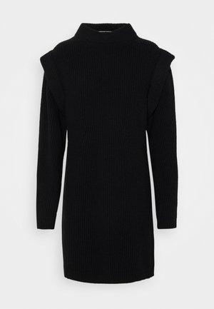 CHEREN - Jumper dress - schwarz