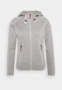 Icepeak - AUBURN - Fleece jacket - grey - 4