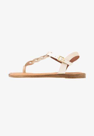 Flip Flops - light gold