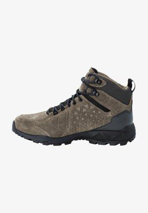 CASCADE - Hiking shoes - khaki / phantom