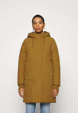 SKY - Winter coat - dark ochre