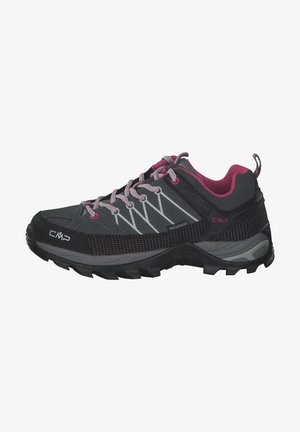 Trail running shoes - grey pink