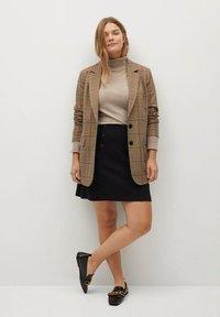 Violeta by Mango - VIVALDI - A-line skirt - schwarz - 1