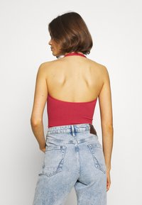 BDG Urban Outfitters - JACKIE HALTER - Top - mineral red - 2