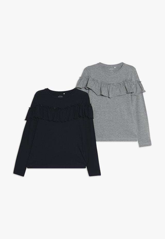 NKFVALDA 2 PACK - Långärmad tröja - dark sapphire