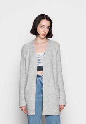 PCELLEN LONG CARDIGAN - Cardigan - light grey melange