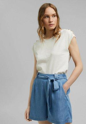 BUTTON - Basic T-shirt - off white
