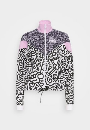 TRACK JACKET - Verryttelytakki - purple/rose