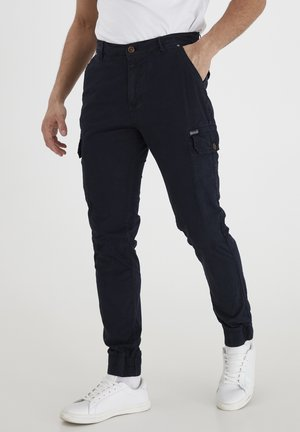 BHNAN PANTS NOOS - Cargo trousers - dark navy blue