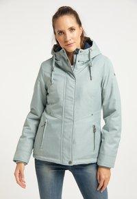 DreiMaster - Winter jacket - rauchmint melange - 0