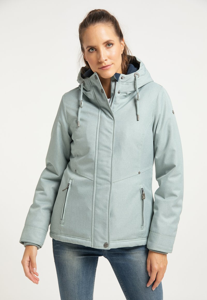 DreiMaster - Winter jacket - rauchmint melange